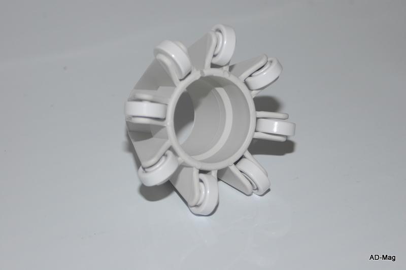 Bague anneau roulette de tuyau de balayage pr robot for Aspirateur piscine polaris 165